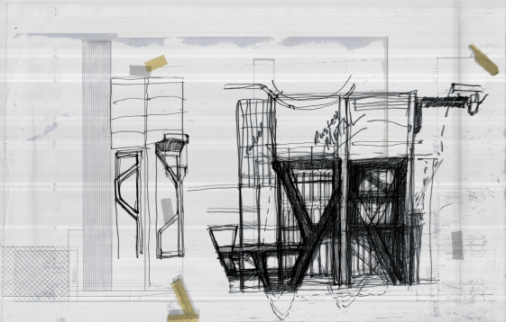 Architectural Sketches 002